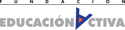 Logo Fundación Educación activa